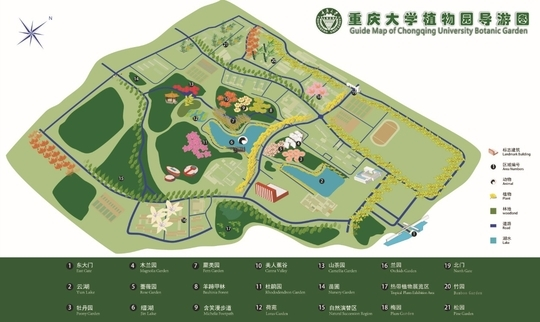 植物园地图